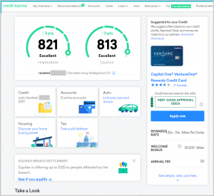 best fintech credit karma for getting your free credit score