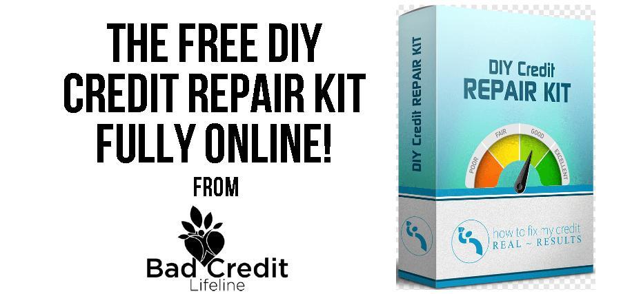 Free DIY Credit Repair Kit from Bad Credit Lifeline