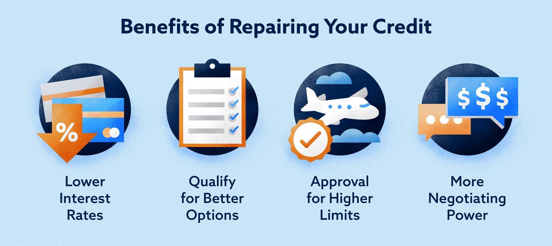 credit repair benefits